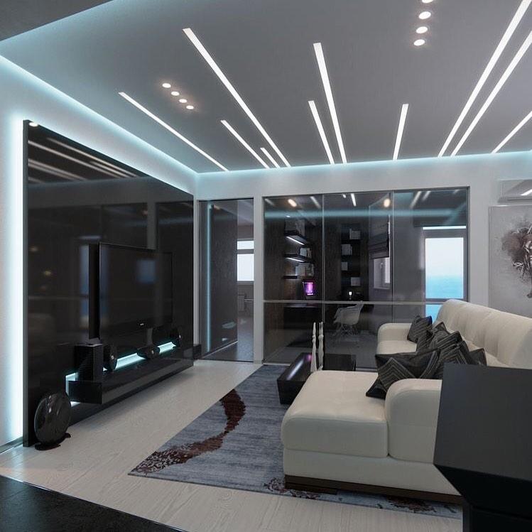 Оформление потолка - интересные идеи. Необычные, нестандартные варианты отделки потолка в квартире