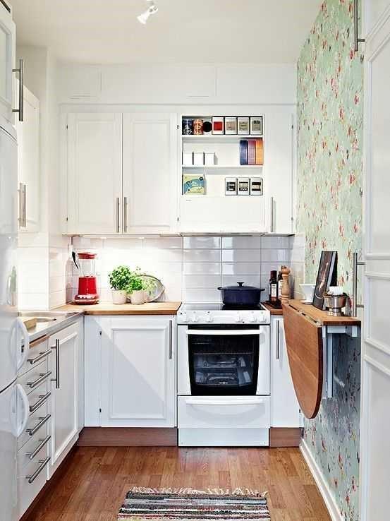 Место для работы на кухне