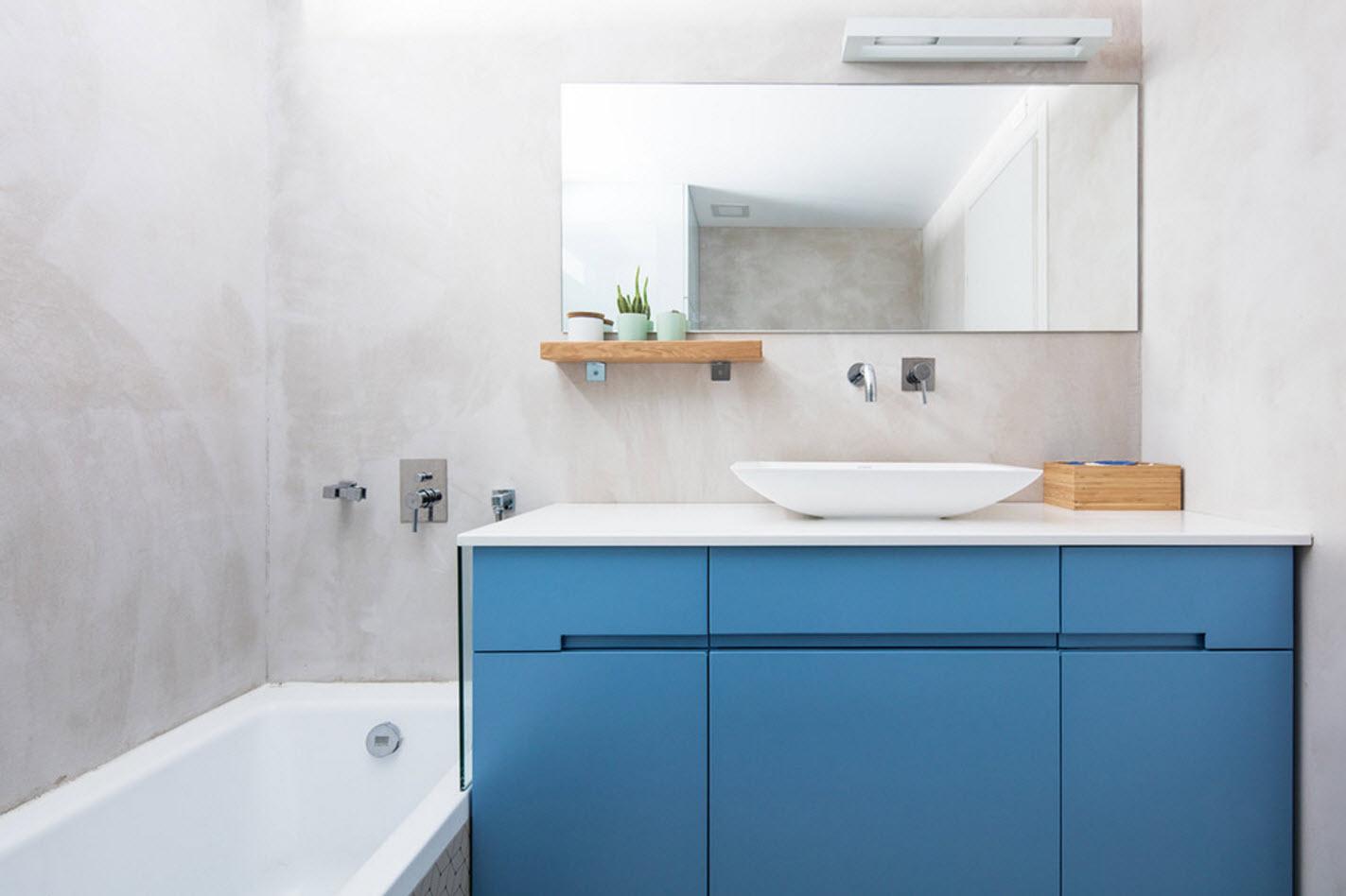 Лучшие цвета для ванной комнаты